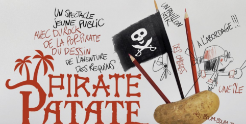 """Spectacle musical & multimédia """"Pirate Patate"""